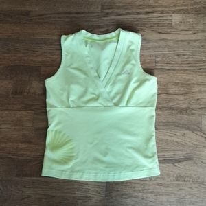 Adidas Crossover Front Light Green Tank L